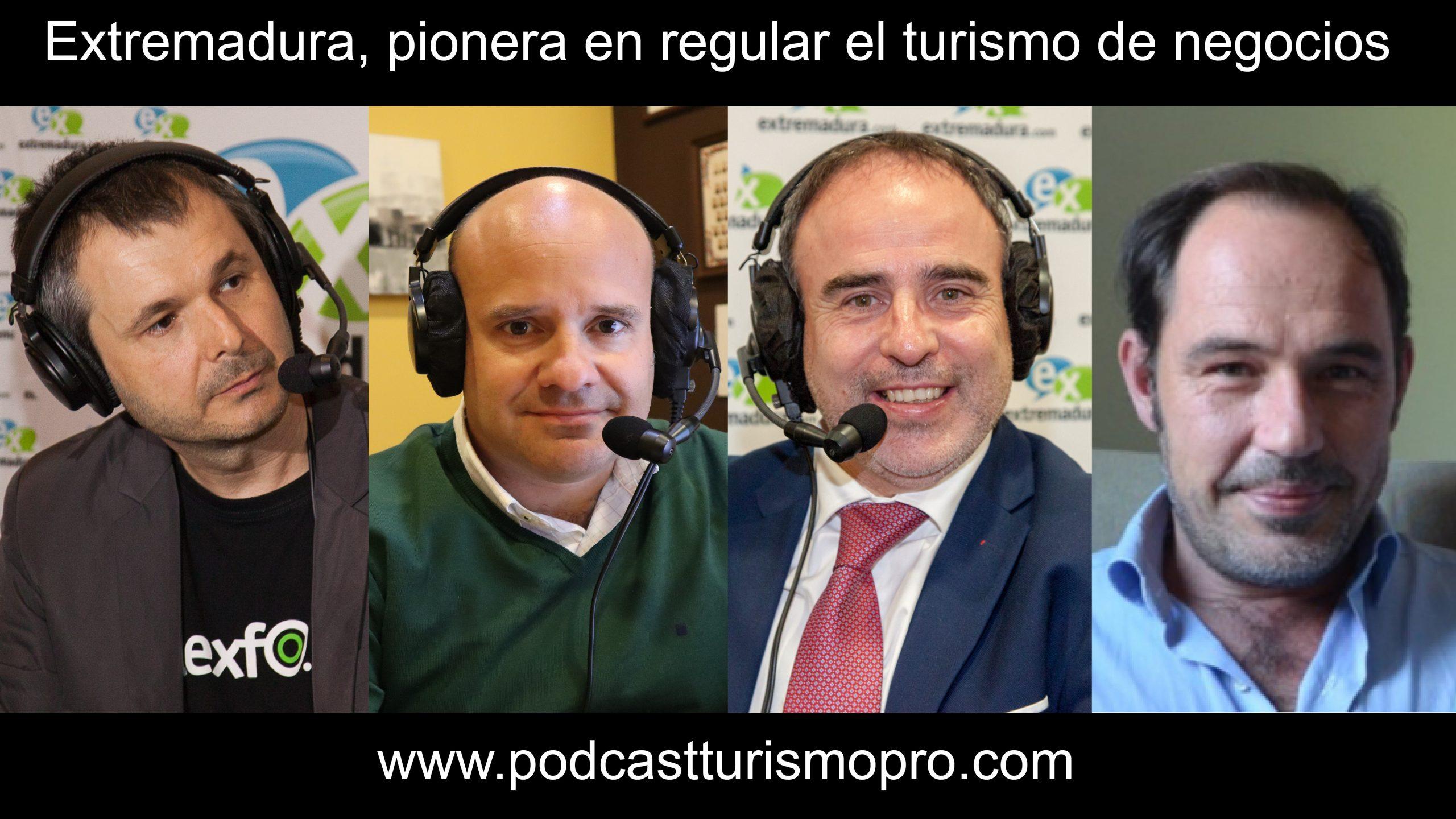 Podcast turismo de negocios Extremadura